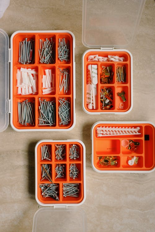 Collection of tools for repair at home