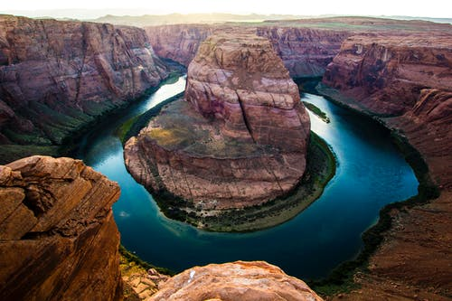 Birds Eye Photography of Horseshoe Bend, Arizona