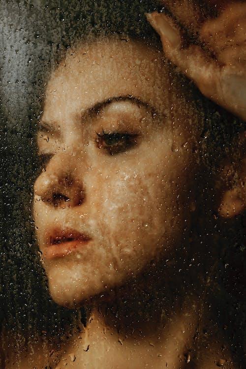 Foto d'estoc gratuïta de a través del vidre, aigua, aiguamarina, amable