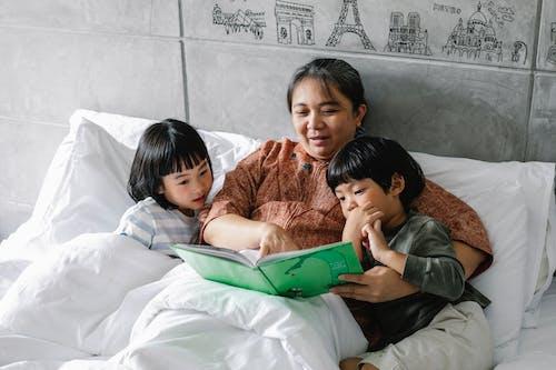 anneanne, arkadaşlık, Aşk, asyalı çocuklar içeren Ücretsiz stok fotoğraf