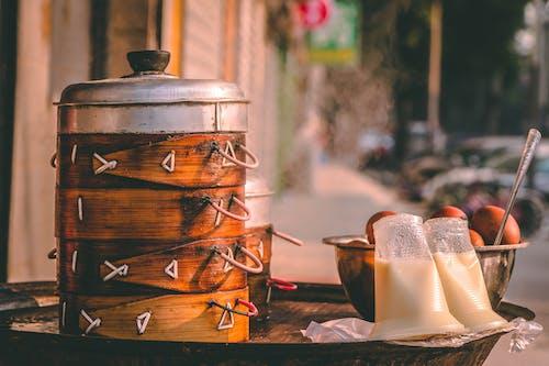 Ingyenes stockfotó ázsiai étel, csípős, falusias, főtt tojás témában