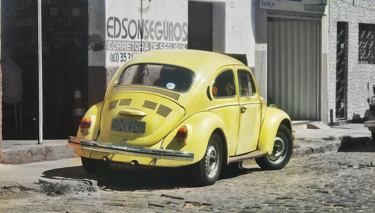 Free stock photo of beetle, street photo, Volks