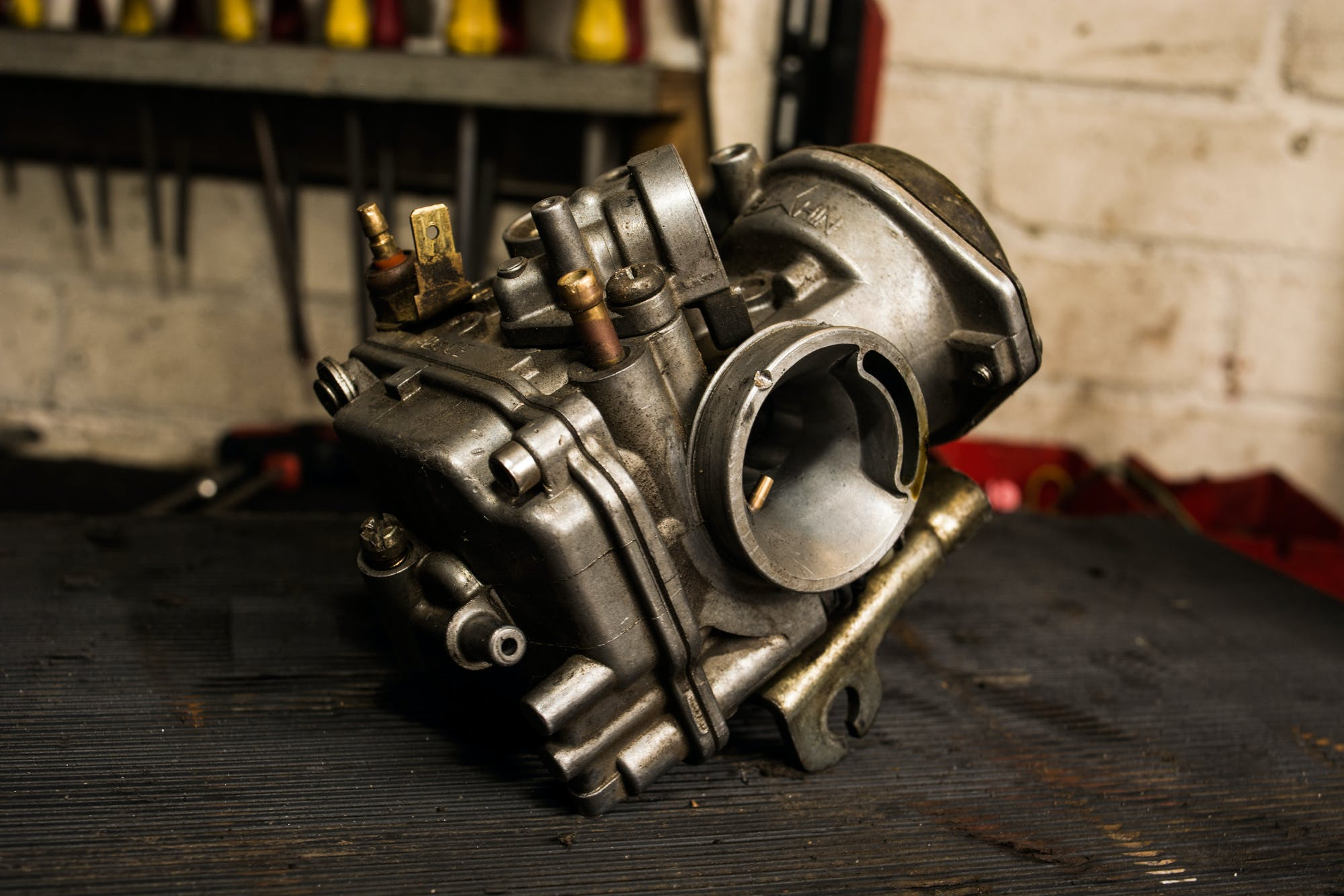 Free stock photo of caberateur, carb, engine, parts