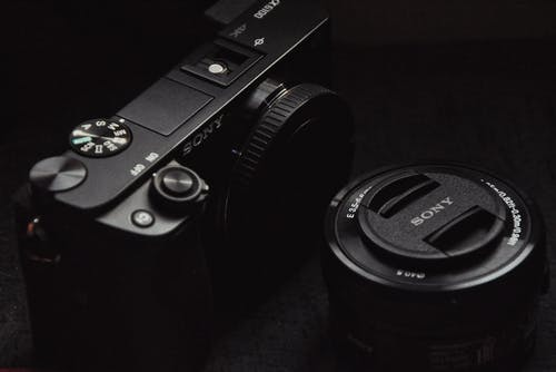 Free stock photo of a6100, black camera, buttons