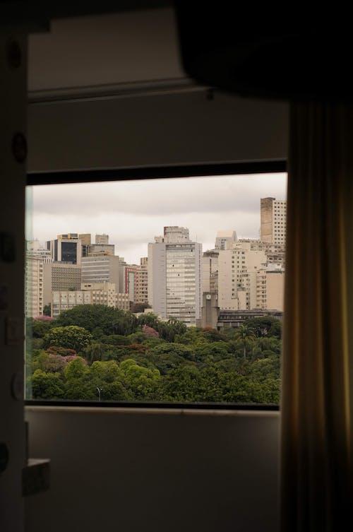 Fotos de stock gratuitas de a través de la ventana, a través del cristal, alojamiento