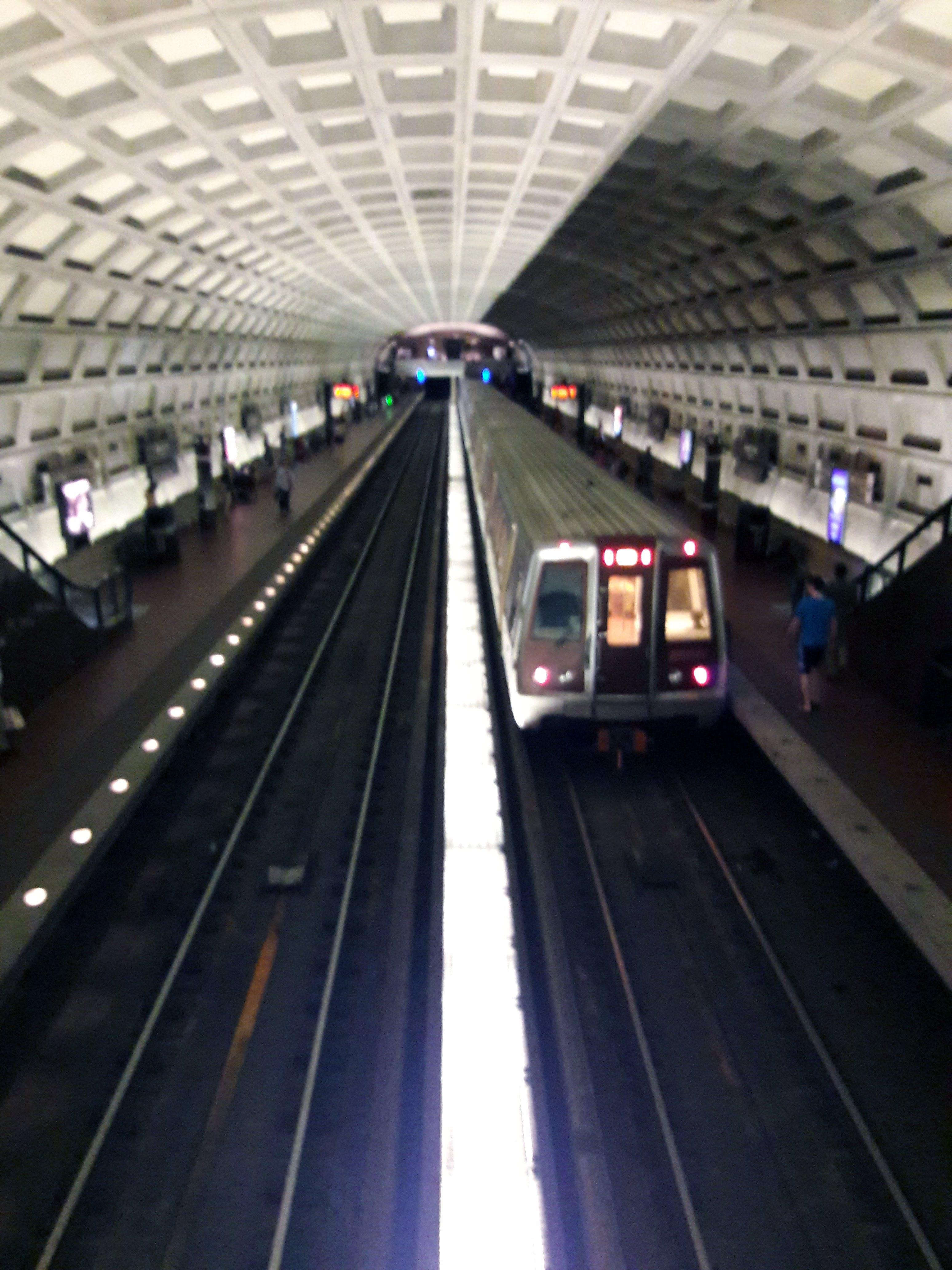Free stock photo of metro, public transportation, train station, washington