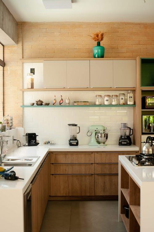 Interior of Modern Kitchen at Home