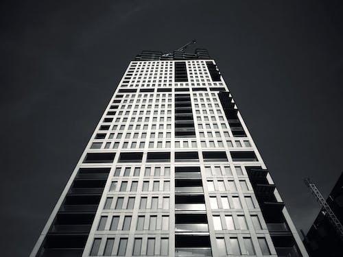 Imagine de stoc gratuită din alb-negru, arhitectură, clădire, fațadă