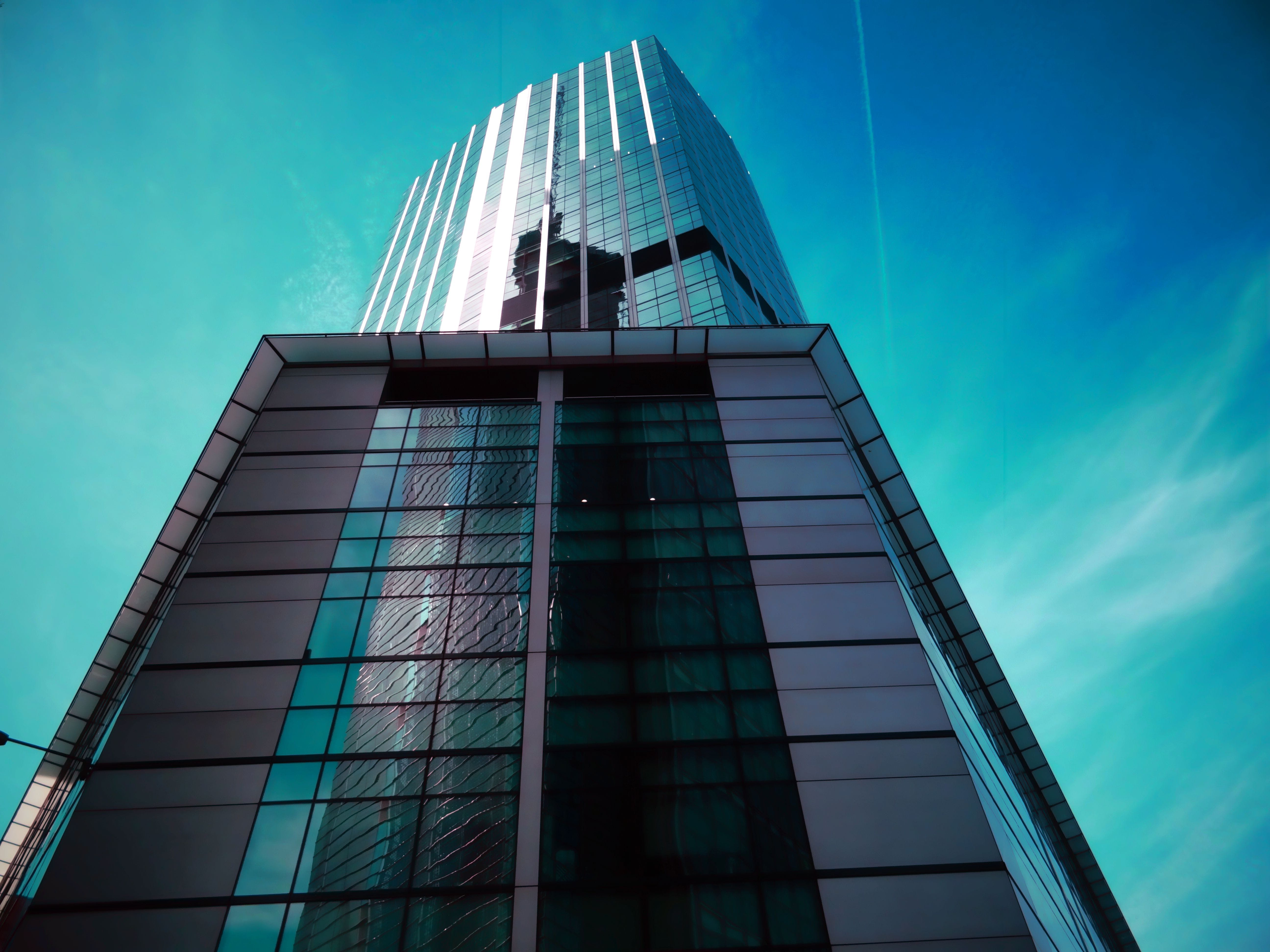 Free stock photo of city, sky, building, office