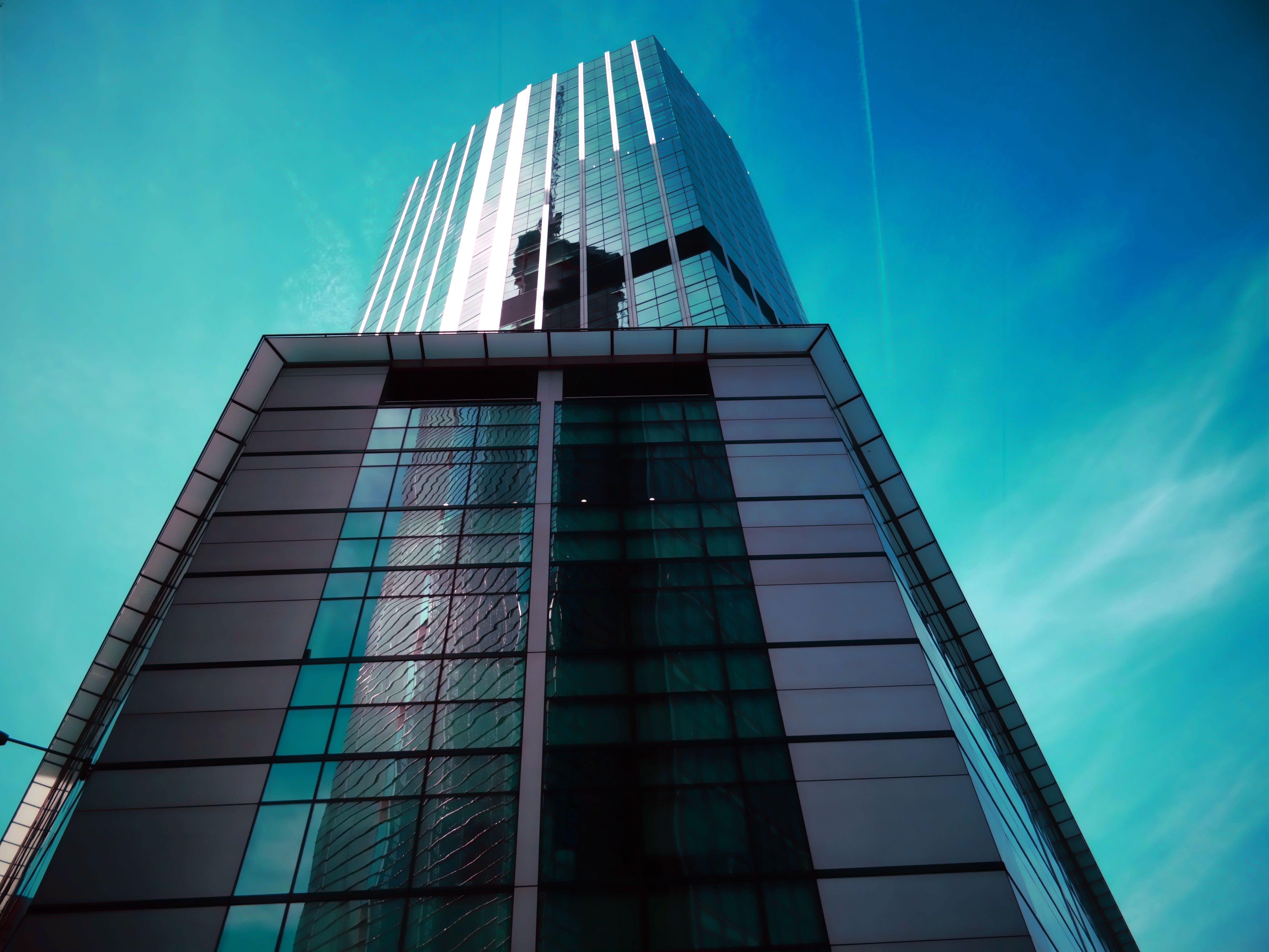 Commercial Building Under Blue Sky