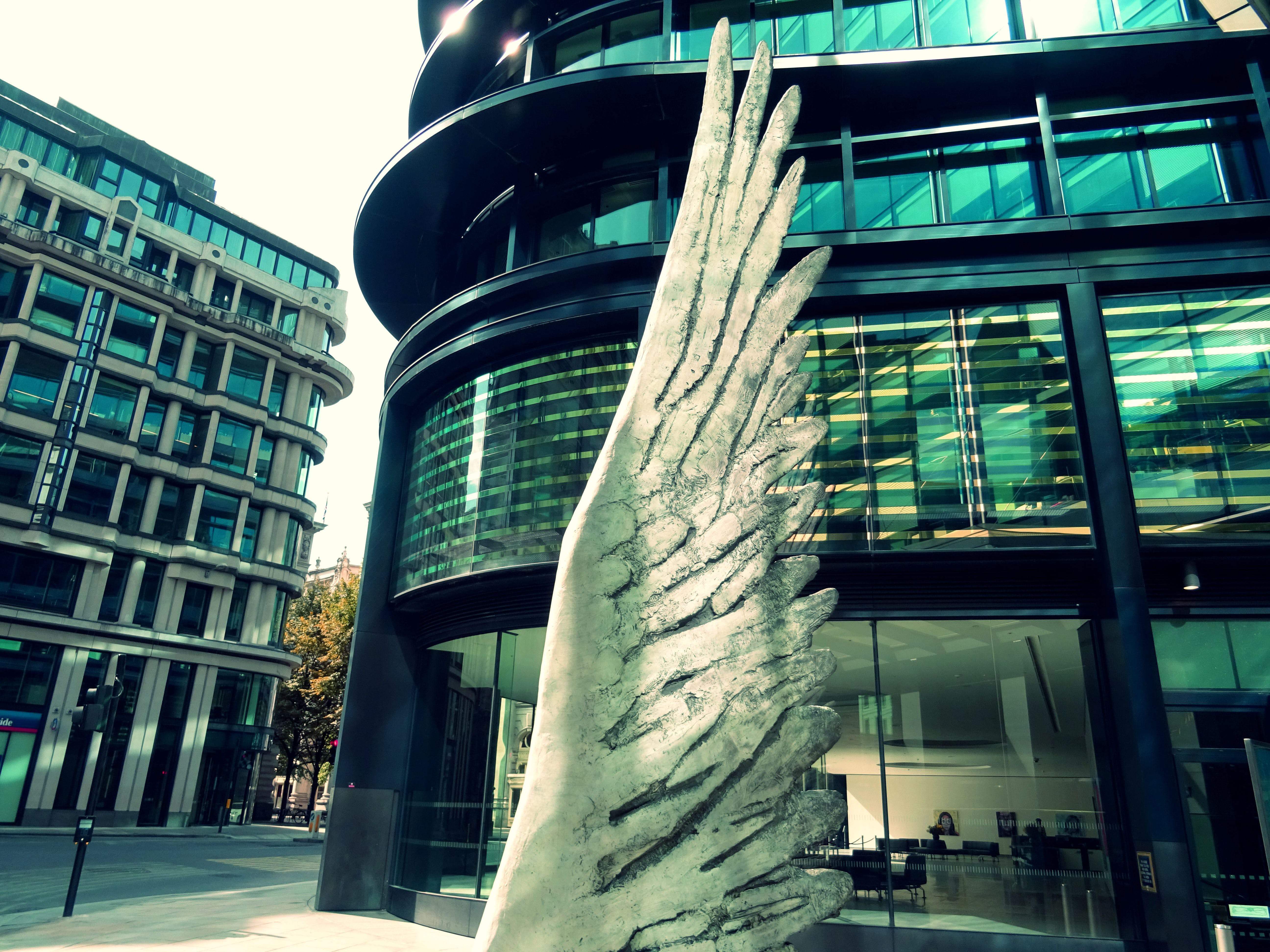 Wing Statue