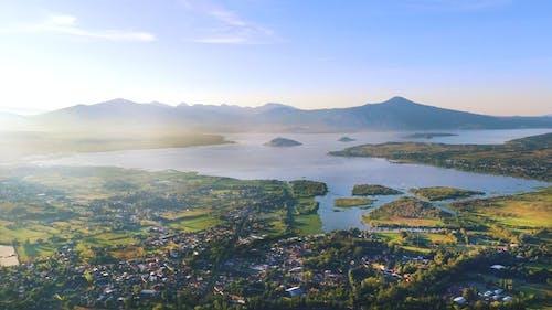Foto stok gratis danau, dengung, fotografi drone, kamera drone