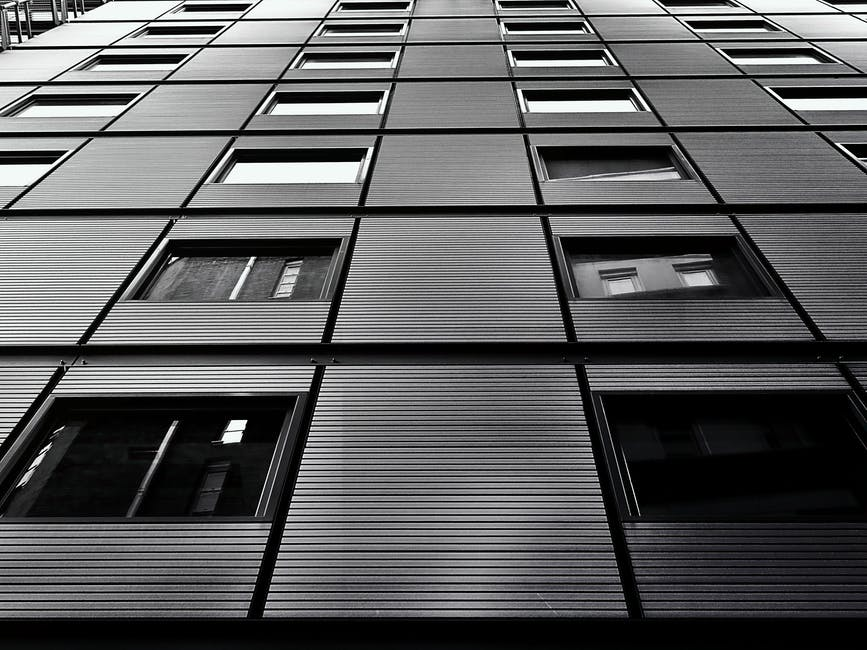 New free stock photo of black-and-white, building, architecture