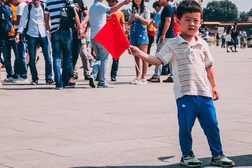Безкоштовне стокове фото на тему «діти, Китай, китайський, китайський прапор»