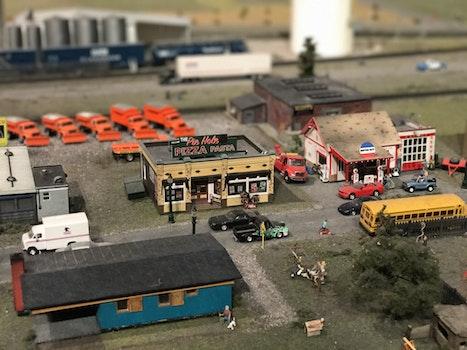 Free stock photo of miniature toy