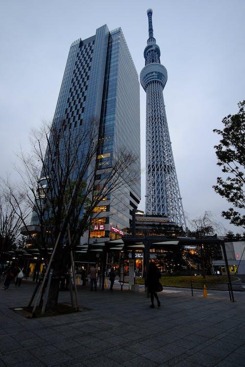 Foto stok gratis bangunan, Kyoto, langit, menara