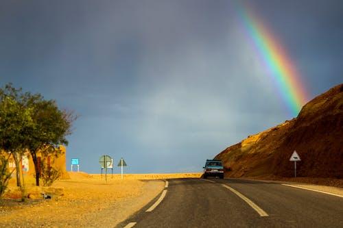 Δωρεάν στοκ φωτογραφιών με άμμος, άσφαλτος, αυτοκίνητο, αυτοκινητόδρομος