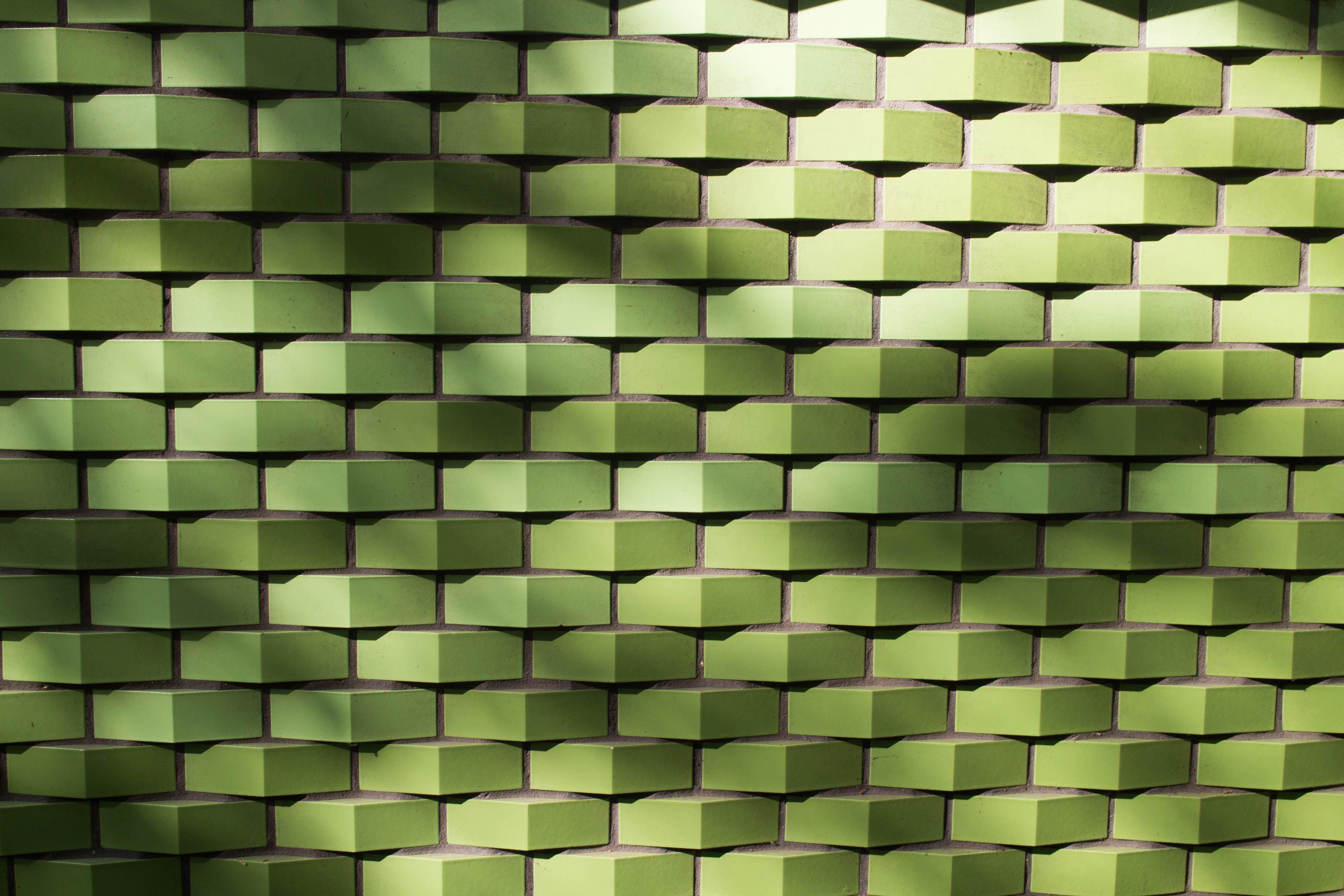 Green Woven Pavement