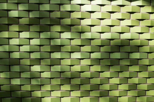 Green Woven Pavement