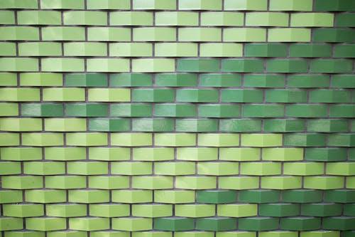 Foto stok gratis tembok hijau