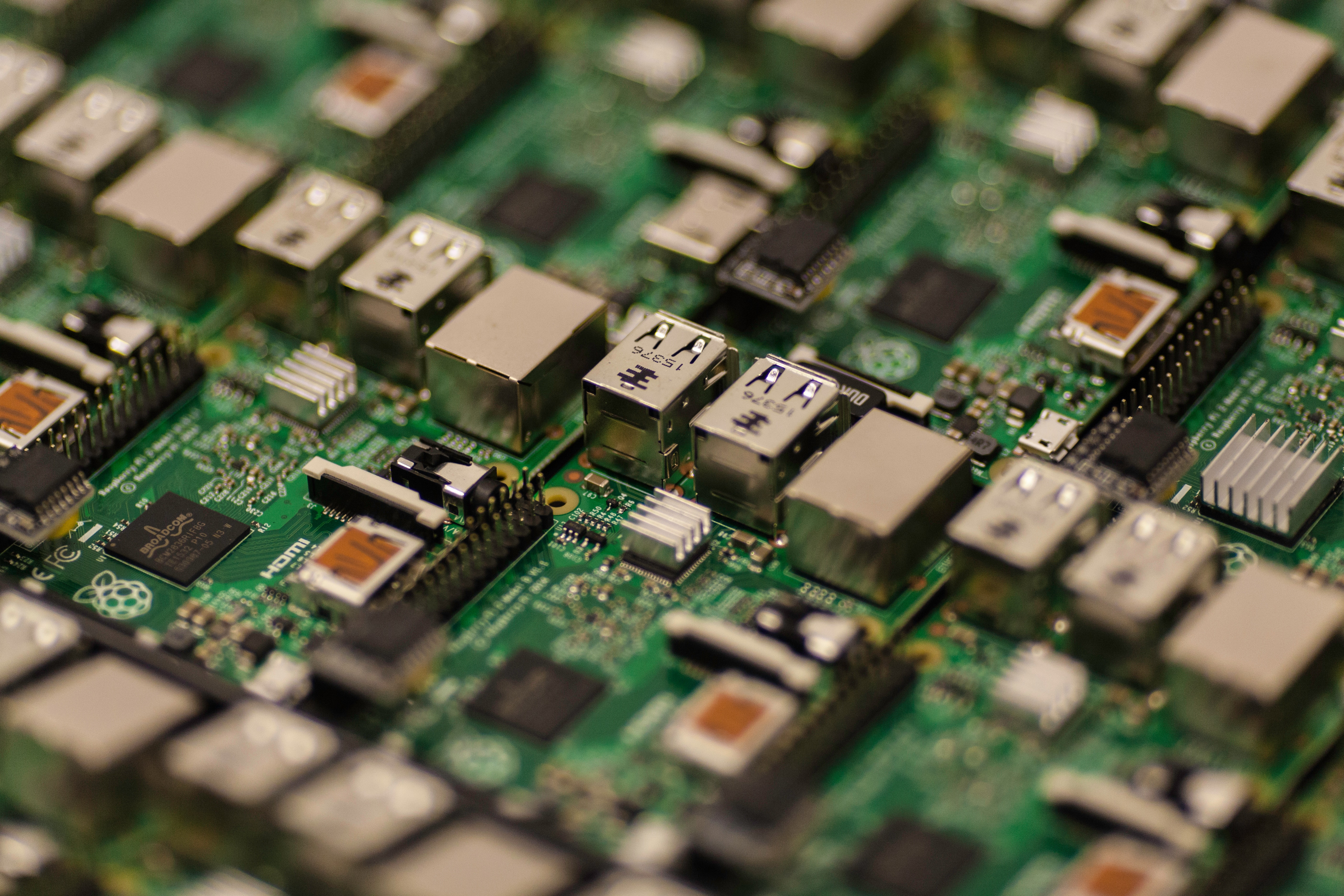 500 Amazing Circuit Board Photos Pexels Free Stock Picture Of A Green And Grey Craig Dennis