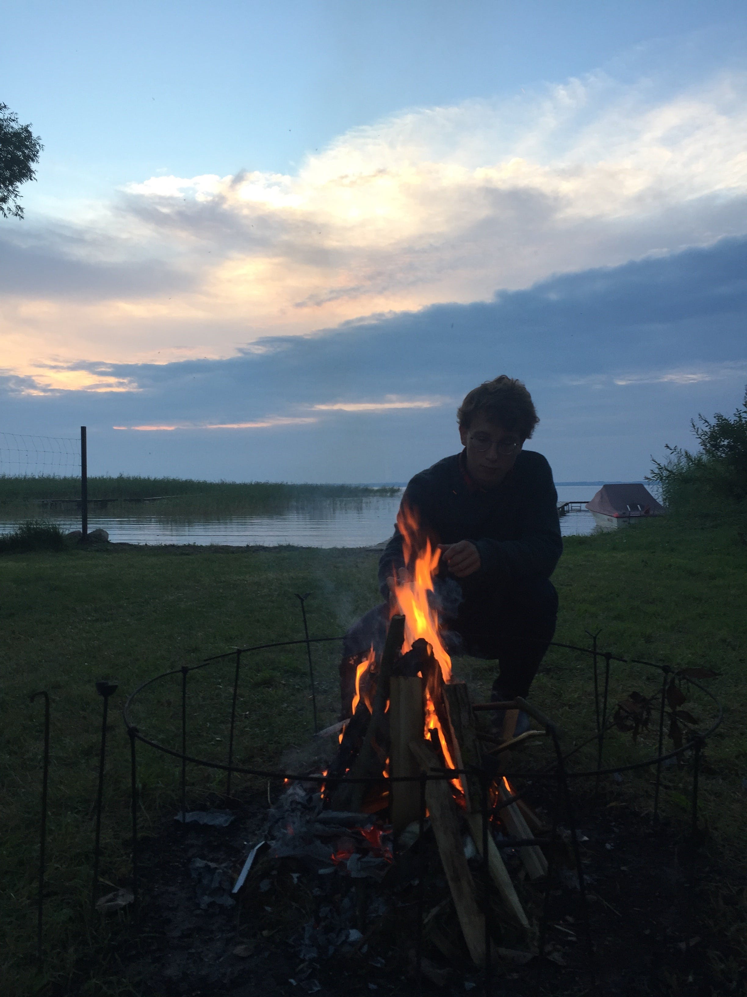 Free stock photo of Åšniardwy, bonfire, campfire, mazury