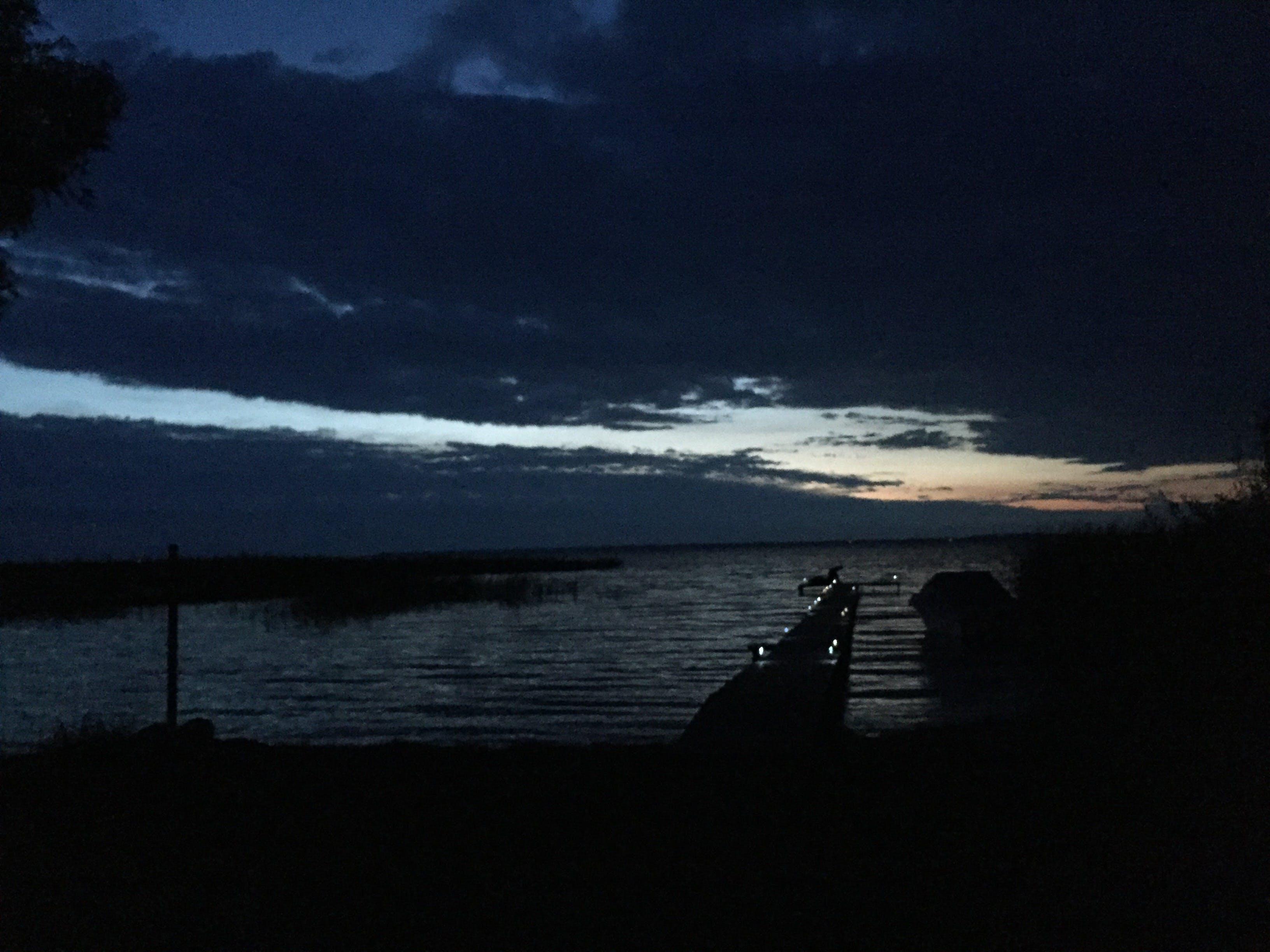 Free stock photo of evening, evening sky, lake, sunset