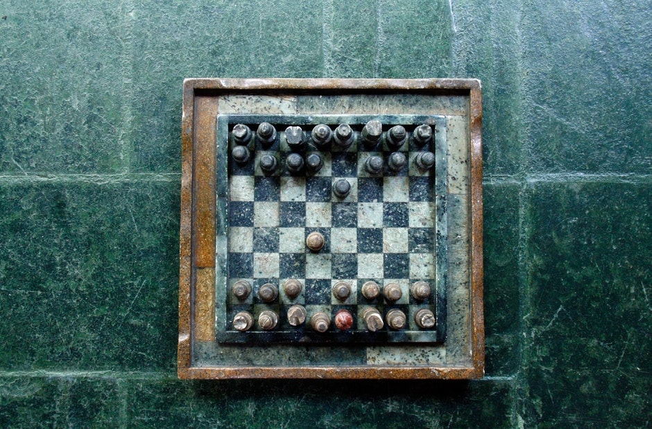 chess, game, playing