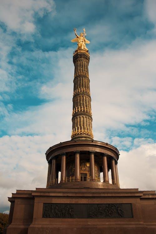 Foto stok gratis #berlin #tiergarden #jerman #victorymonument #travel