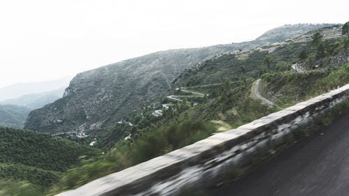 Free stock photo of downhill, mountain, road