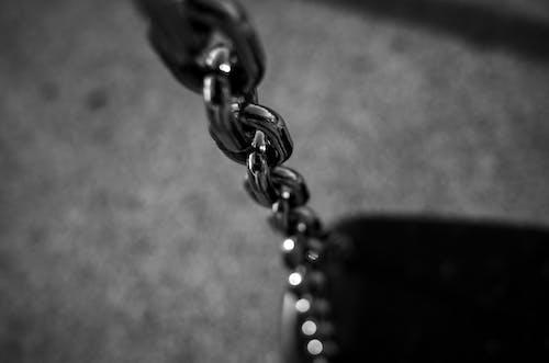 Kostnadsfri bild av kedja, svartvitt