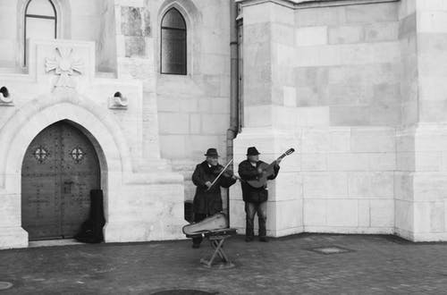 Free stock photo of musician, old street