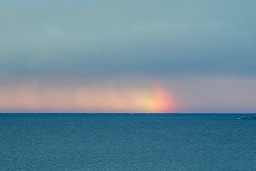 海上七彩燈光效果