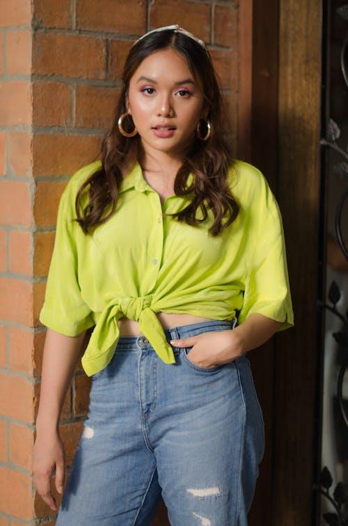 Gratis lagerfoto af afslappet, asiatisk kvinde, casual