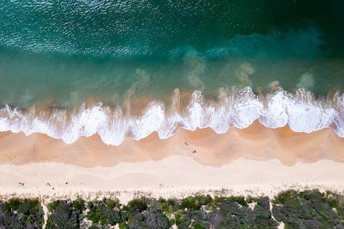 Azurblaues Meer Im Tropischen Ferienort