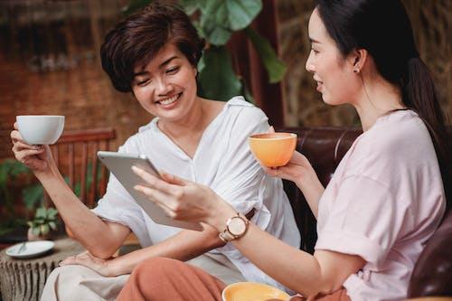 Δωρεάν στοκ φωτογραφιών με cafe, casual, gadget