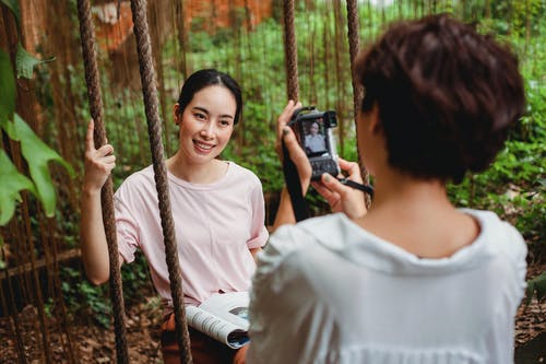 คลังภาพถ่ายฟรี ของ faceless, กล้อง, กลางแจ้ง, การถ่ายภาพ