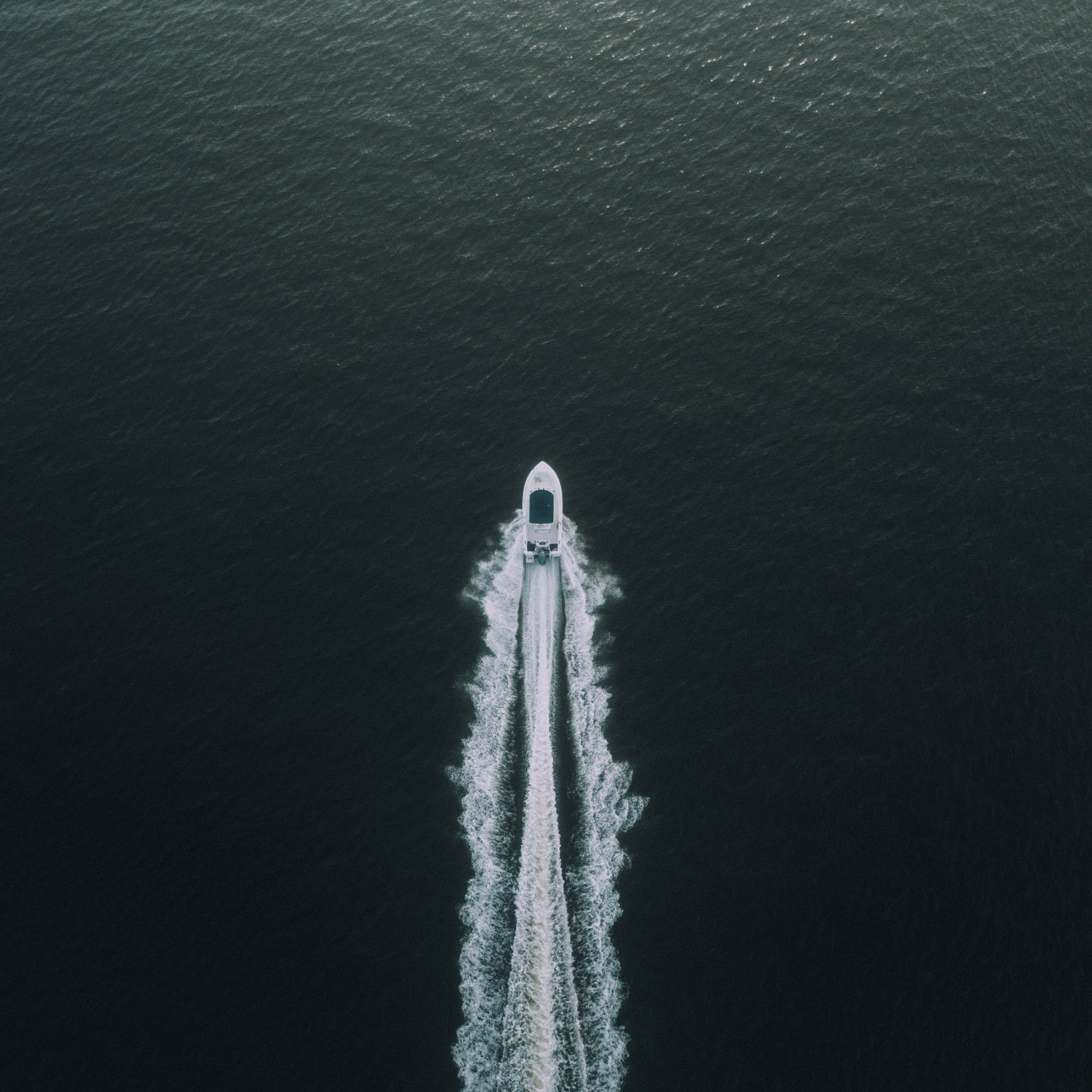 Bird's-eye Photography of Boat