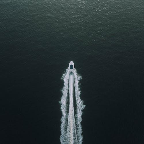 Bird's-eye Photography of Boat