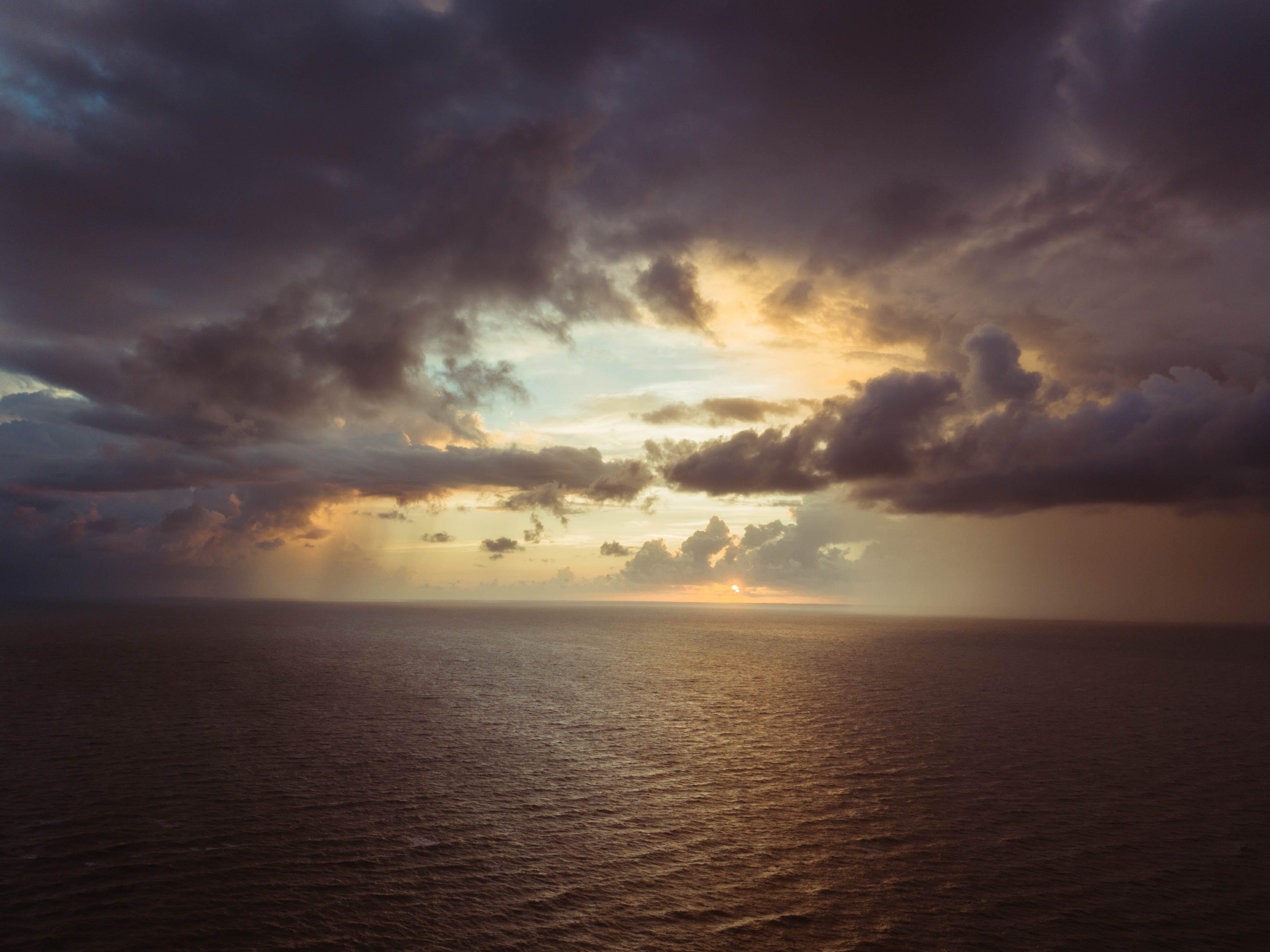 검은 구름, 경치가 좋은, 구름, 물의 무료 스톡 사진