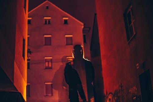 คลังภาพถ่ายฟรี ของ กรันจ์, กลางคืน, การสัมผัสหลายจุด, คน