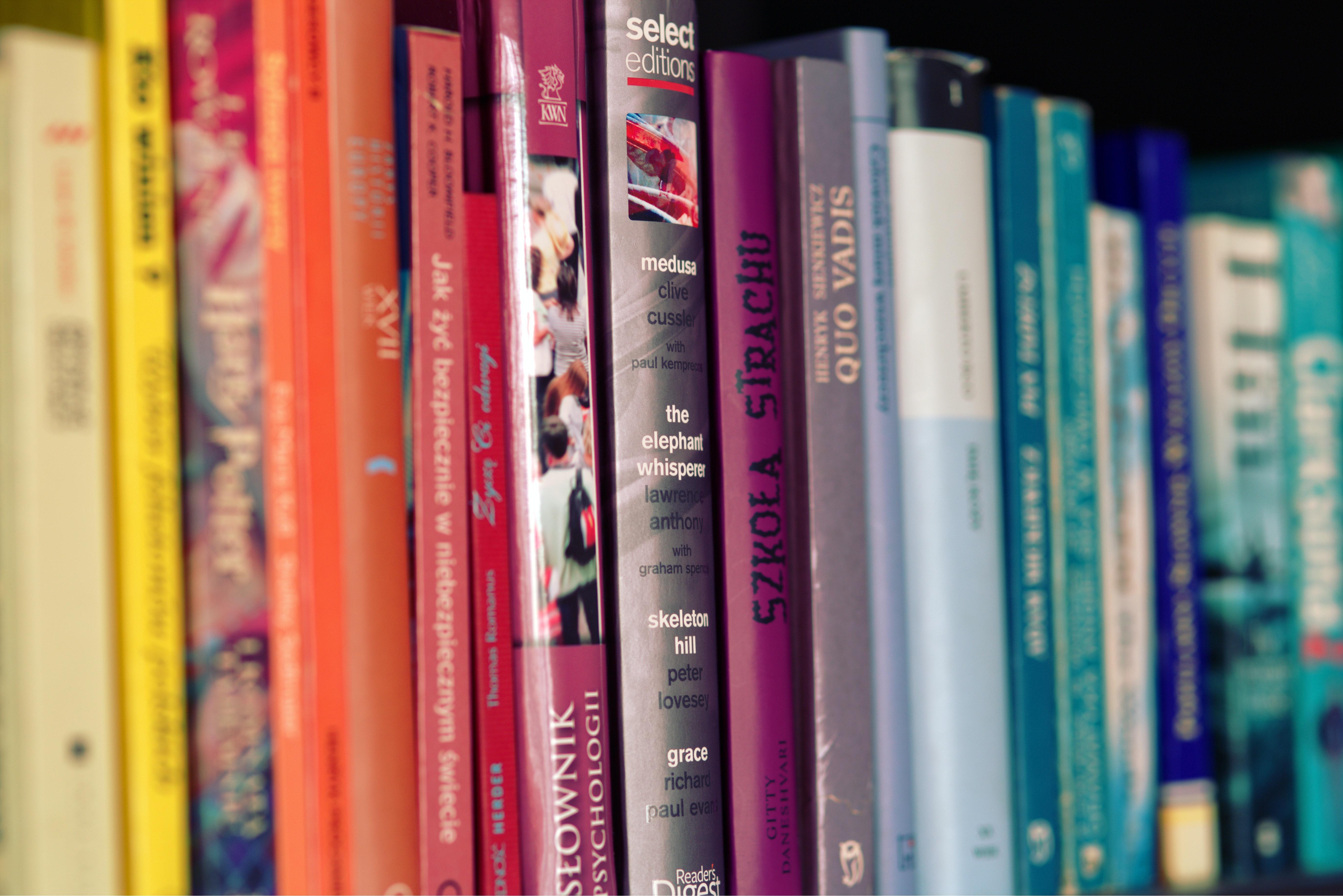 Colorful books · Free Stock Photo