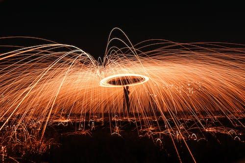 Gratis arkivbilde med bevegelse, brann, brenne, brent