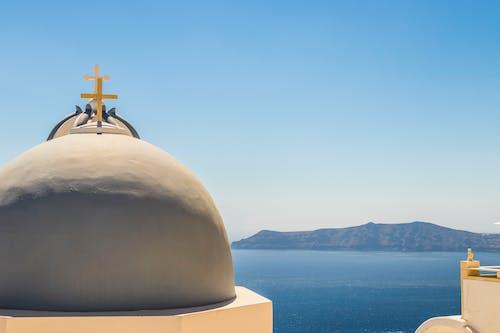 Gratis lagerfoto af farve, fredelig, Grækenland, himmel
