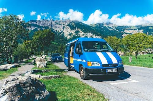 Free stock photo of camper van, campervan, ford
