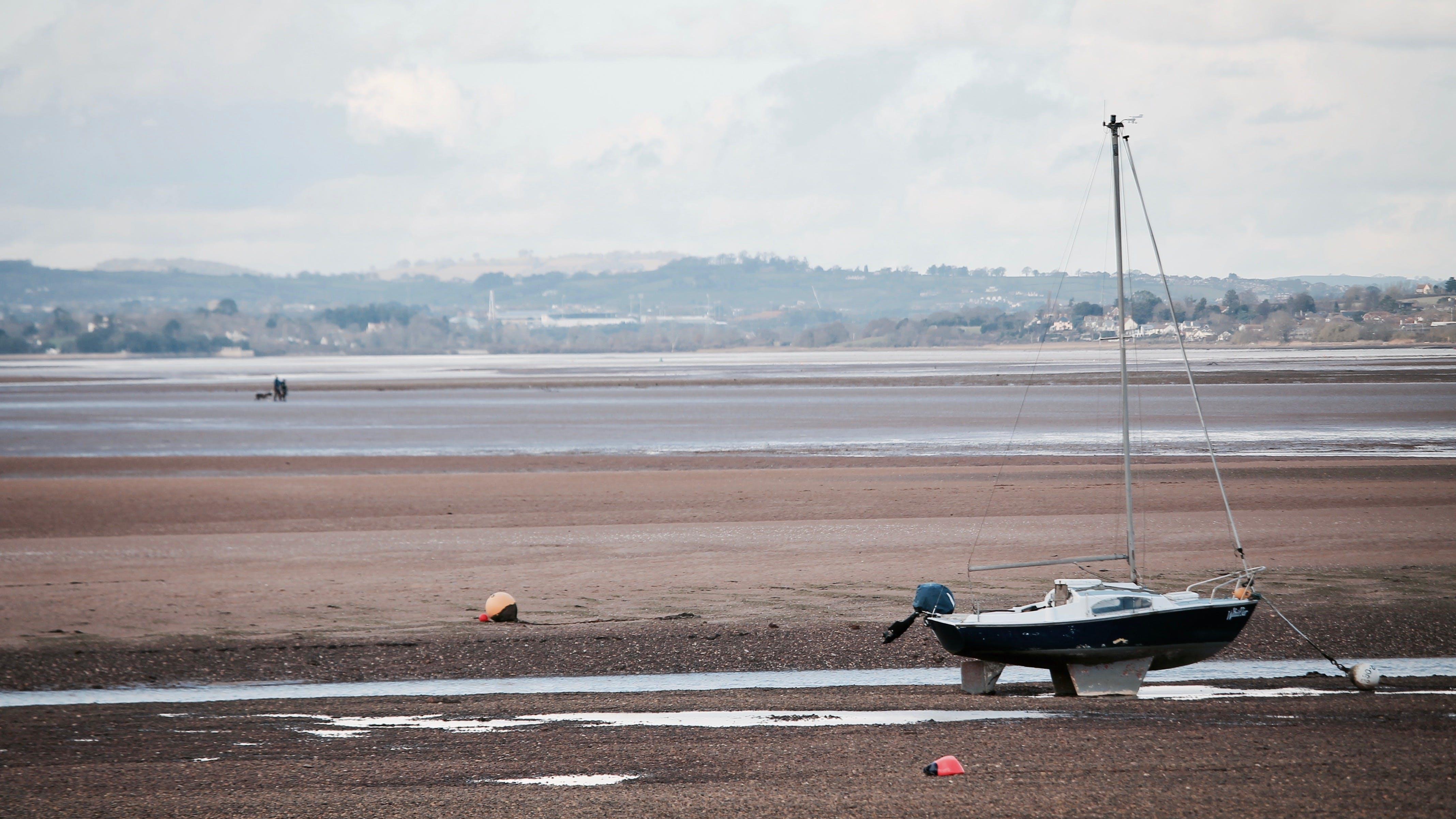 Sail Boat on Shore