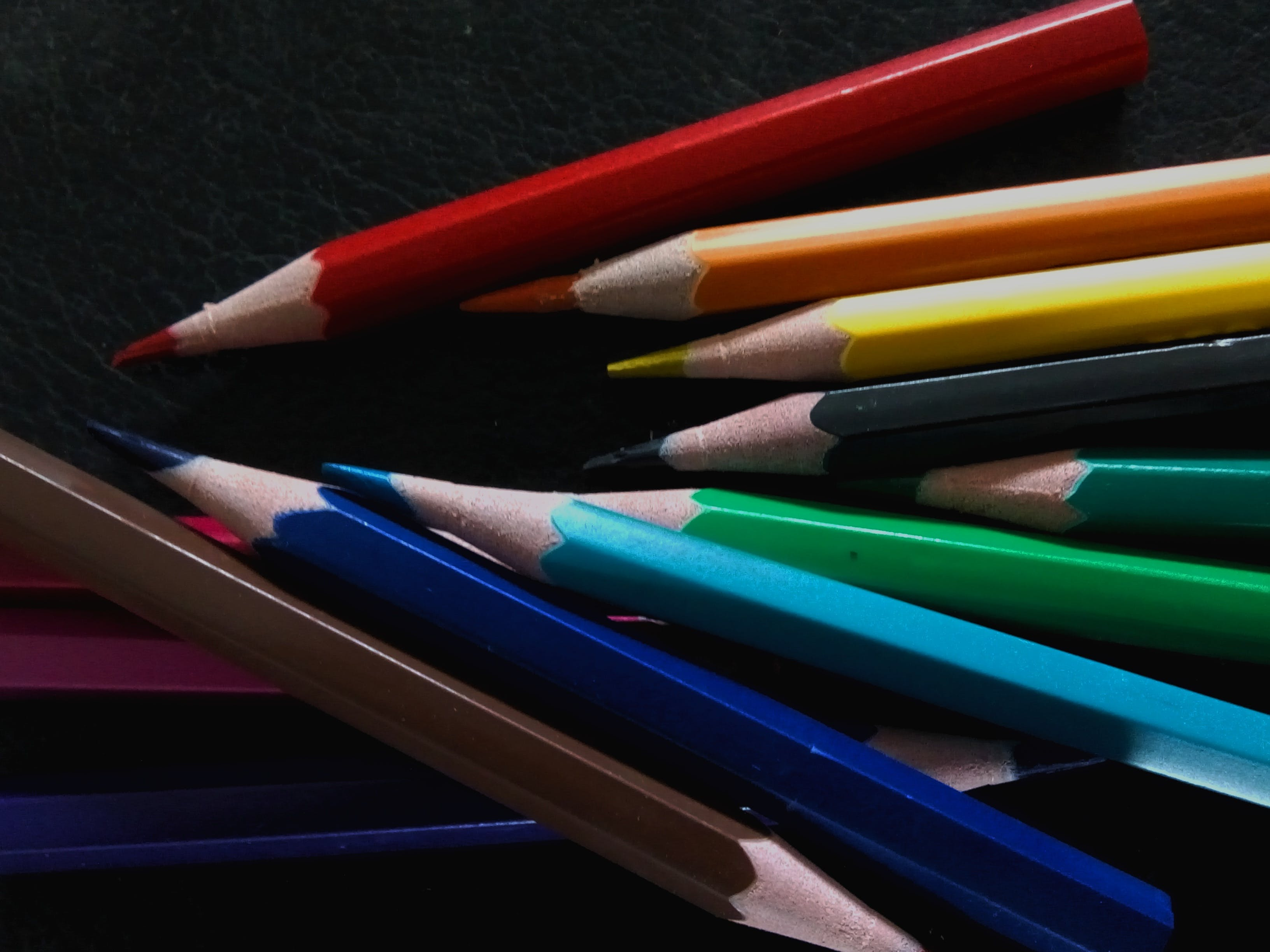 Free stock photo of color pencils, colored pencils, colors