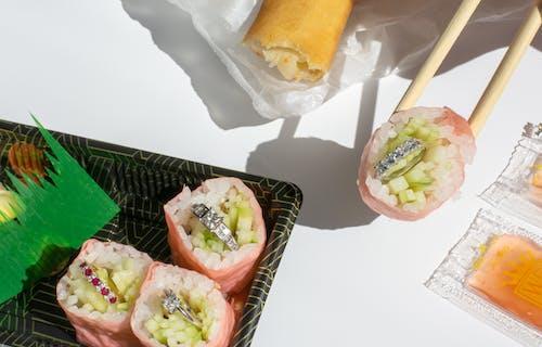 Δωρεάν στοκ φωτογραφιών με sashimi, wasabi, ασιατικό φαγητό