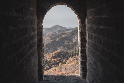 Photos gratuites de abandonné, ancien, arc, architecture