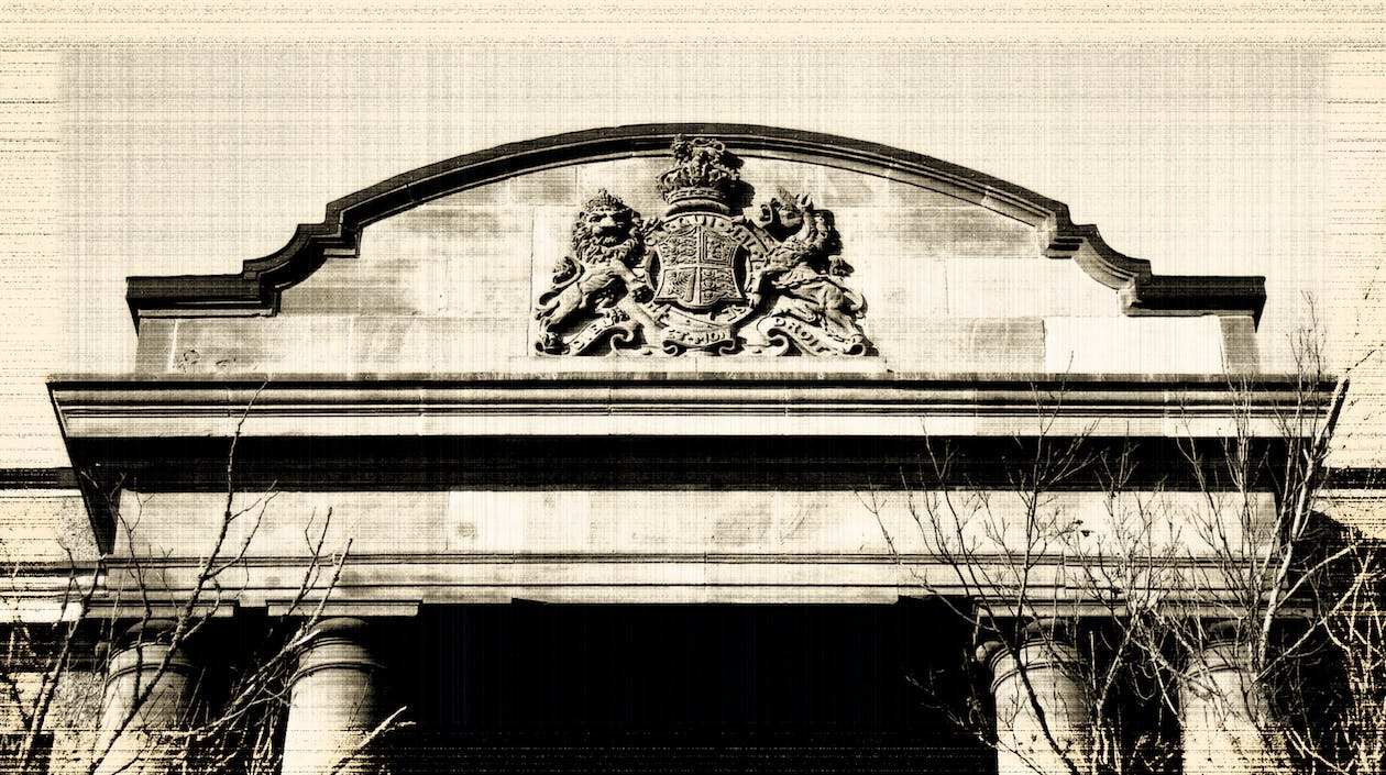 Free stock photo of building, crest, government building